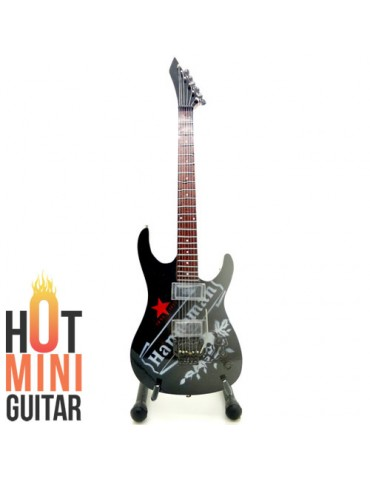 Miniature Guitar - Jeff Hanneman - ESP Star Seit Red Custom