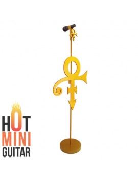 Mini Standing Microphone - Prince - The Authentic Art of Music Gear Limited Edition - Gold