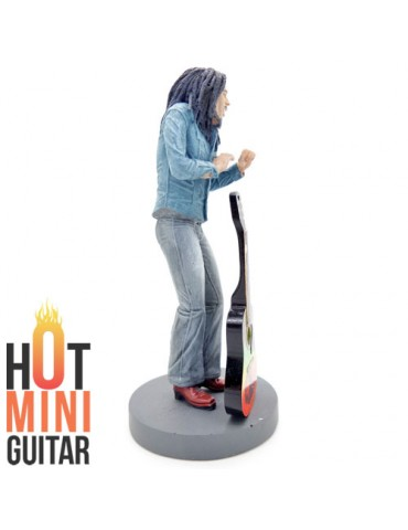 Mini Action Figure Statue - Bob Marley - Figure Statue Art Limited Edition