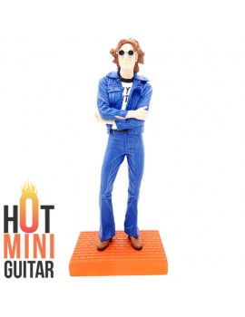 Mini Action Figure Statue - John Lennon The Beatles - Figure Statue Art Limited Edition