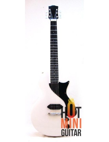 Miniature Guitar - Billie Joe Armstrong - Gibson Les Paul Junior White Reissue Custom