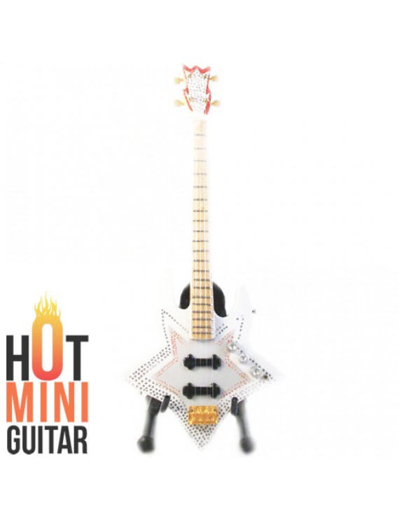 Miniature Bass Guitar , Bootsy Collins , Washburn Star