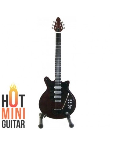 Miniature Guitar - Brian May - Burns Brian May Guitars Red Special Fireplace Signature Custom