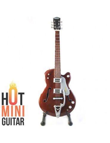 Miniature Guitar - Chet Atkins - Gretsch G6119 Tennesse Rose Custom Reissue Custom