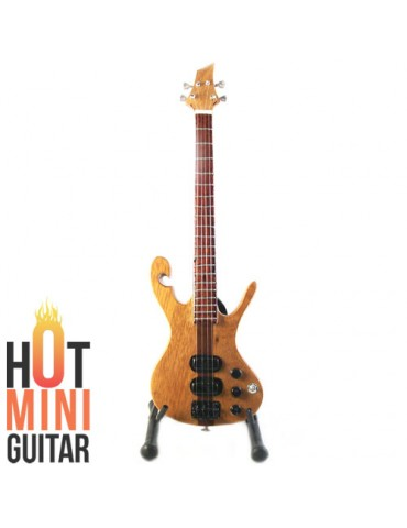 Miniature Bass Guitar - Les Claypool - Carl Thompson Custom Bass