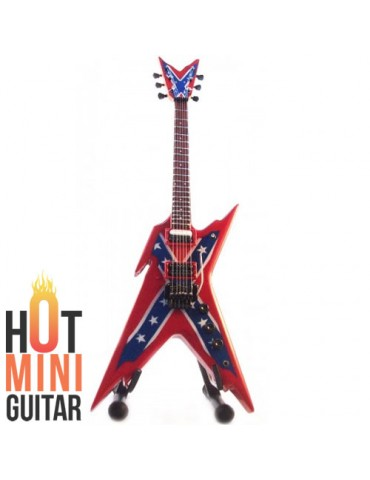 Miniature Guitar - Dimebag Darrell - Dean Razorback Rebel Custom