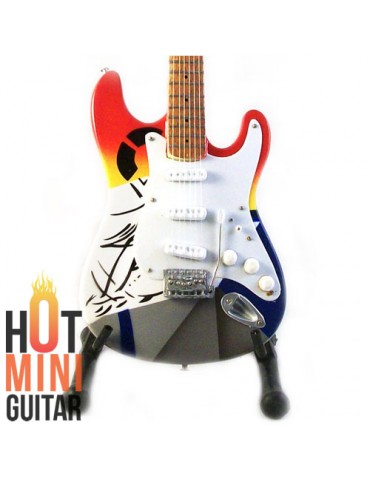 Miniature Guitar - Eric Clapton - Fender Stratocaster Crash #1 Custom