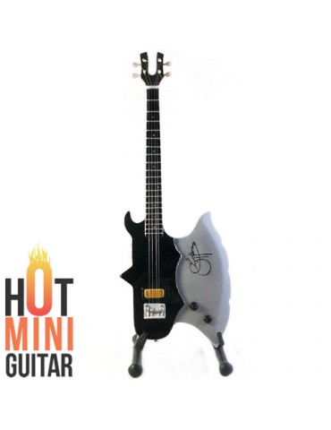 Miniature Bass Guitar - Gene Simmons - Cort GS-AXE-2 Carved Custom Bass