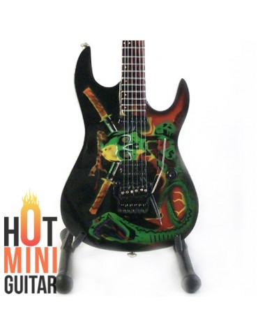 Miniature Guitar - George Lynch - ESP Skull and Snake Custom