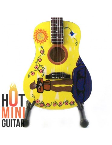 Miniature Guitar - George Harrison - Gibson Yellow Submarine J45 Acoustic Custom