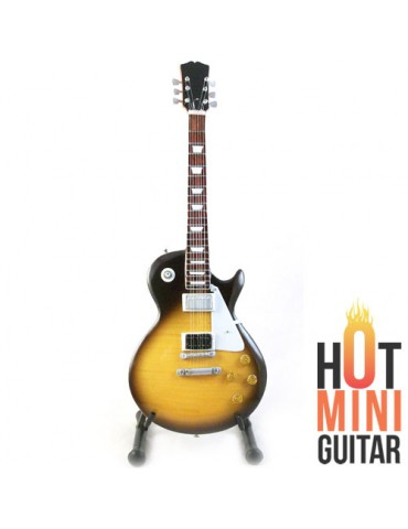 Miniature Guitar - Jimmy Page - Gibson Les Paul Number Two Custom