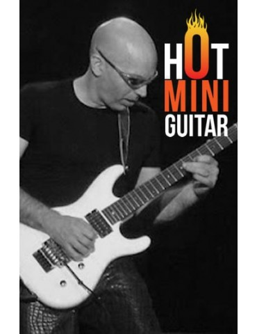 Miniature Guitar - Joe Satriani - Ibanez JS-1600 Silver Custom