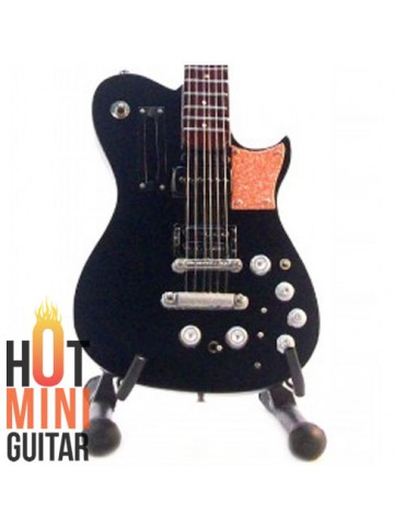 Miniature Guitar - Matthew (Matt) Bellamy - Manson 007 Black 2001 Signature Custom
