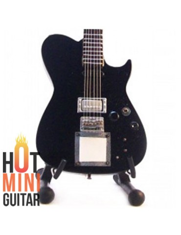 Miniature Guitar - Matthew (Matt) Bellamy - Manson Black Midi MB-1 Custom