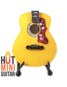 Miniature Guitar - Pete Townshend - Gibson Artist SJ-200 Acoustic Custom