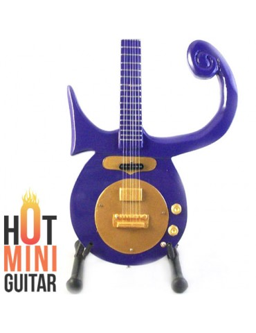 Miniature Guitar - Prince's - ESP Symbol Purple Custom