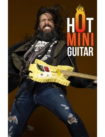 Miniature Guitar - Ron Thal Bumblefoot - Vigier Swiss Cheese Signature Reissue Custom