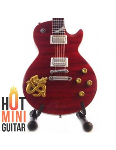 Miniature Guitar - Slash - Gibson Les Paul Snakepit Embossed Custom